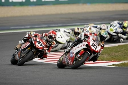 Superbike Magny Cours 2008 Gare