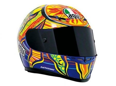 AGV GP Tech Valentino Rossi Five Continents