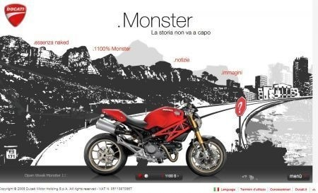 Open Week Ducati Monster 1100 2009