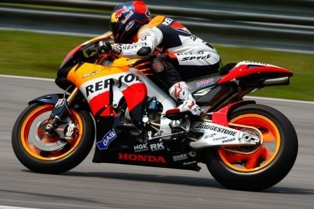 Dovizioso Test Sepang Day2