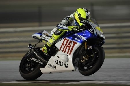 Rossi a Losail