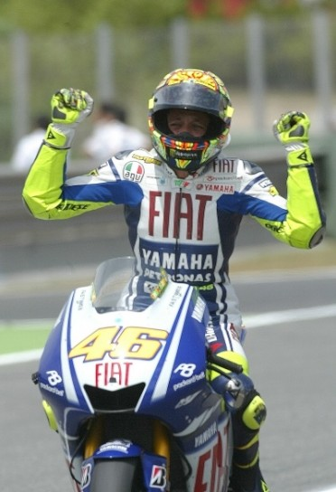 Rossi vince