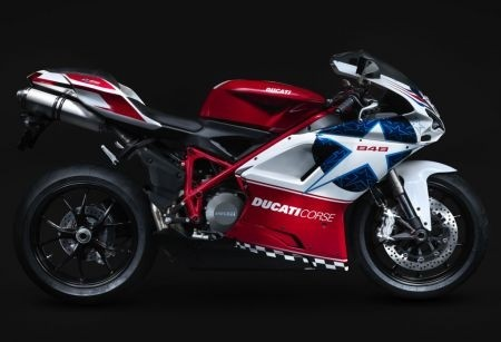 Ducati 848 Nicky Hayden replica
